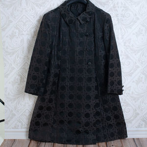 BERGDORF GOODMAN on the plaza vintage black coat